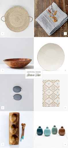 Setting Your Holiday Table Product Round-up | Casa Verde