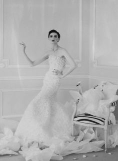 Erin O'Connor by Cathleen Naundorf for Harper's Bazaar