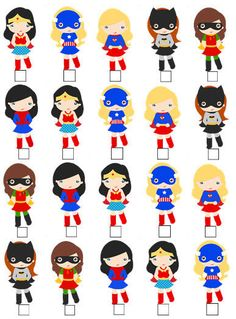20 x CUTE SUPERHERO GIRL V1 SPIDERMAN BATMAN STAND UP EDIBLE WAFER CARD TOPPERS  in Home, Furniture & DIY, Cookware, Dining & Bar, Baking Accs. & Cake Decorating | eBay!