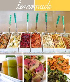 Must eat at Lemonade! Seasonal, farmers market fresh food with delicious...what else Lemonades!