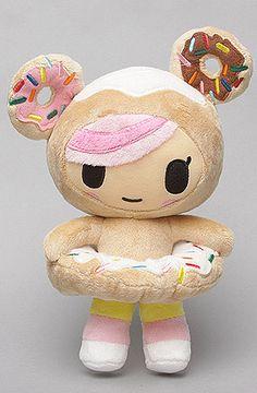 Tokidoki Donutella Plush Toy want to make on fimo Softies, Plushies, Kawaii Room, Cute Stuffed Animals, Cute Pillows, Cute Plush, Cute Toys, Kawaii Cute, Felt Crafts