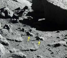 Oh Look! It's the Same Rocks & Mountains…Again…And Again - Top 8 Examples Proving the Moon Landing Was a Hoax - EnkiVillage