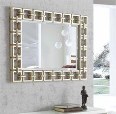 ESPEJO ESCOCIA PLATA DIS-ARTE, para la decoración de comedores con estilo moderno e informal.