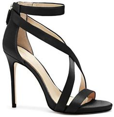 The Imagine Vince Camuto Devin – Fabric Crisscross-Strap Sandal from Imagine. Wrap Shoes, Ankle Strap Shoes, Tie Shoes, How To Stretch Shoes, How To Make Shoes, Pretty Shoes, Awesome Shoes, Evening Shoes, Strappy Sandals