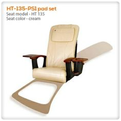 Are you looking for a #new look for your #Pedicure #Chair? This pedicure chair #seat with #cream #color can be a great choice :)