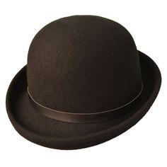 Palarie bowler hat din fetru moale Palarie din fetru pliabil pentru un plus de comoditate, acest bowler hat va ofera aerul aristocratic tipic englezesc. Purtati-l la o tinuta eleganta si veti obtine un plus de rafinament.
