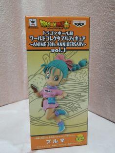 Dragon Ball Super DWC Vol.1 ANIME 30th ANNIVERSARY Bulma Figure