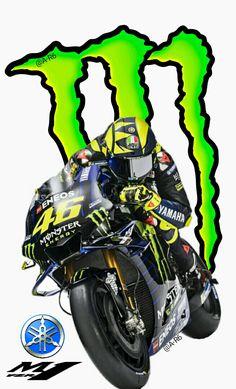 Valentino Rossi - Yamaha 2019 Monster energy