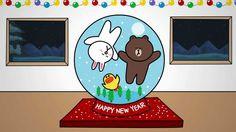 LINE FRIENDS - season's greetings