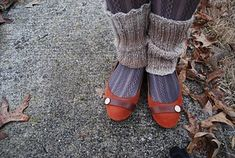 These comfy leg warmers are great for any kind of cold weather! Boot Cuffs, Cold Weather, Ravelry, Socks, Comfy, Legs, Knitting, Pattern, Fashion
