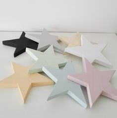 Estrella 5 puntas madera. / Trastovere