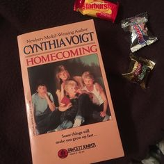 """It's the first day of my Feb. photo challenge and """"A is for Adventure""""! Here's an oldie but a goodie. Read The Homecoming by Cynthia Voigt when I was a kid and was captivated. How could four siblings survive on their own on a journey to find their grandma after their mother abandons them at a mall? . Come join my #photochallenge and don't forget the hashtag #abcsofreading so others can find your post too!"""