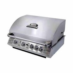 Brinkmann, 4-Burner Built-In Stainless Steel Dual Fuel Gas Grill, 810-6805-SB at The Home Depot - Mobile