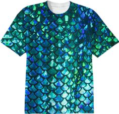Mermaid Scales T-Shirt - Available Here: http://printallover.me/products/0000000p-mermaid-scales-3