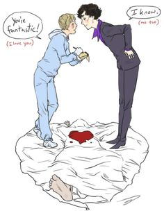 johnlock fanart reapersun - Google Search