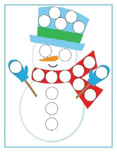 snehuliak Winter Activities For Kids, Christmas Activities, Christmas Crafts, Montessori Activities, Preschool Crafts, Preschool Activities, Snowman Games, Snowman Crafts, Unicorn Painting