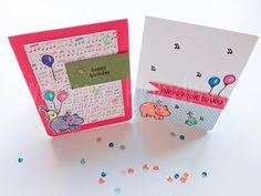Tarjetas de cumpleaños  #cardmaking #lawnfawn #crafts #stamps #handcrafted #happybirthday #birthdaycards