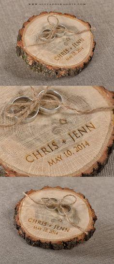 Wedding Wooden Ring Holder