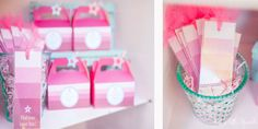 American Girl Inspired Birthday Party. See more over at www.justalittlesparkle.com