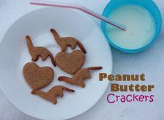 Homemade Peanut Butter Crackers- Super Healthy Kids