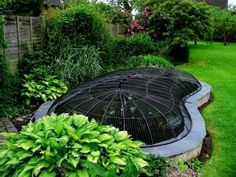 Pond covers for heron proofing, predator proofing pond