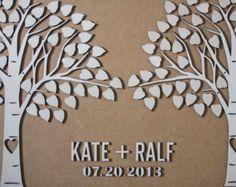Custom wedding guest book alternative 3D by TotallySalinda