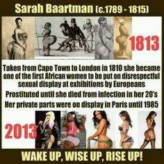 Sarah Baartman: Kim Kardashian could learn a thing or two from the history of her latest photos and the shameful history behind the pose.