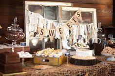 Burlap Wedding Garland fabric garland by VintageSideoftheMoon, $29.00