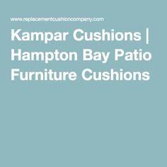 Kampar Cushions   Hampton Bay Patio Furniture Cushions