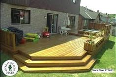 Image result for backyard simple deck