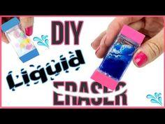 DIY Crafts: DIY LIQUID ERASERS! Orbeez, Lava, Glitter Liquid Eraser DIYs! - YouTube