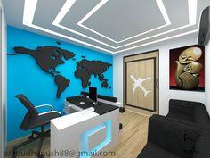 Principal S Office Decor Make Over Office Decor Office Wall Decals, Office Walls, Office Decor, Office Interior Design, Office Interiors, Airplane Decor, Luxury Office, Travel Office, Decoration