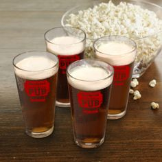 Personalized Neighborhood Pub Glass Set