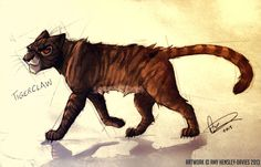 TigerClaw / Tigerstar - Warriors by AmyVsTheWorld on DeviantArt