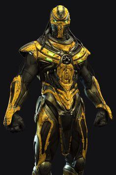 Cyrax new suit