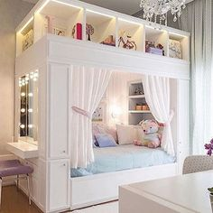 Mädchenzimmer: 75 Mädchenzimmer Ideen mit Fotos Girls room: 75 girls room ideas with photos # Roof sloping paint Related posts: Sewing projects for teens room decor girls bedroom New ideas Light Up Headboard Girl Room, Dream Bedroom, Cute Bedroom Ideas, Dream Rooms, Bedroom Decor, Room Ideas Bedroom, Cool Beds, Bedroom Design, Home Decor