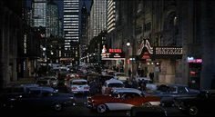 Great New York city street shot in the 1963 film The Thrill Of It All...