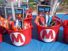 Super Mario Bros Birthday Party Ideas | Photo 1 of 20 | Catch My Party