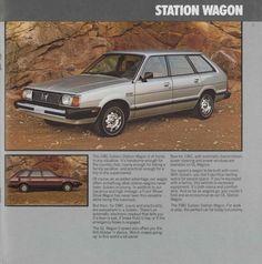 1981 #Subaru Station #Wagon. #retro #vintage #Advertising