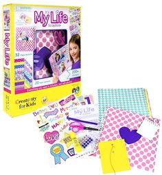 Creativity for Kids It's My Life Scrapbook Kit -- Click image to review more details.