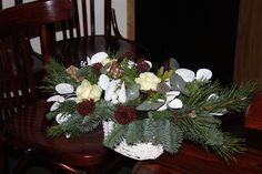 Kerstbloemstuk