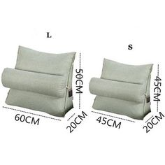 Hot-sale Triangular Backrest Cushion For Sofa Cushions For Bed Thick Corduroy Pillow Back Support Online - NewChic Mobile.