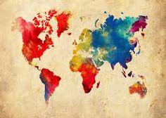 Afbeeldingsresultaat voor painting world map