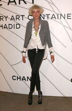 Agyness Deyn at Chanel
