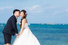 ハワイでのビーチフォト☆ 白~イエローのアイテムセット♪ の画像|Ordermade Wedding Flower Item MY FLOWER ♪ まゆこのブログ