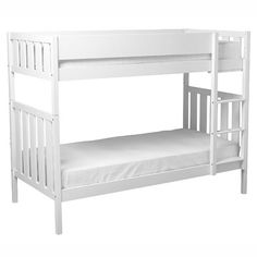Bright White Darwin Bunk Bed £520 (2 x single beds)