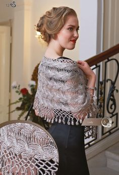 Use imgbox to upload, host and share all your images. It's simple, free and blazing fast! Shawl Patterns, Sweater Knitting Patterns, Lace Knitting, Hairpin Lace, Diy Scarf, Knitting Books, Hair Pins, Knit Crochet, Crochet Shawl