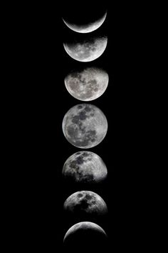 ARTS N SKILLS  — Phases of the Moon by Eftypography   More by the...