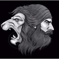 The lion a symbol in Sikhism Singh.