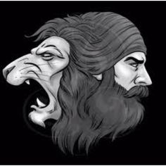 The lion a symbol in Sikhism